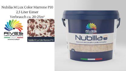 Marrone P10. 2,5L
